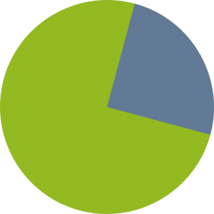 BusinessMVP PieChart Green Blue Rotate 345